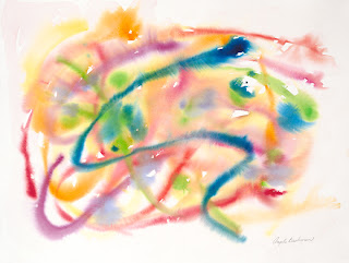 """Honorable Mention for """"In the Flow"""" Painting"""