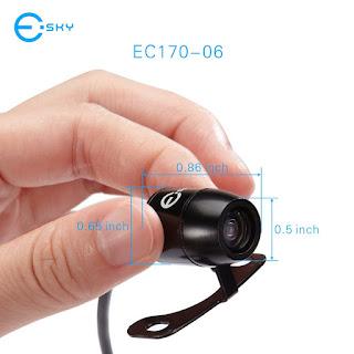 Recensione telecamera auto HD - Retrocamera - Telecamera posteriore per parcheggio