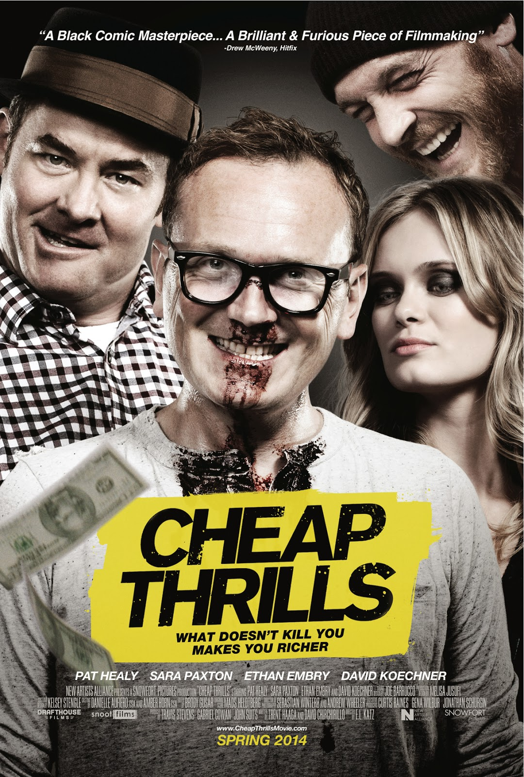 Drafthouse Films Cheap Thrills Clip Strip Club Sandwichjohnfilms Short Circuit Reboot By Tim Hill Might Give Johnny5 New Life Would You Do This For 500 Check Out The First Below From Critically Acclaimed Currently 100 Fresh On Rotten