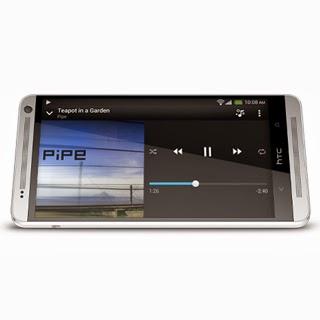 HTC One Max Silver 4G smartphone