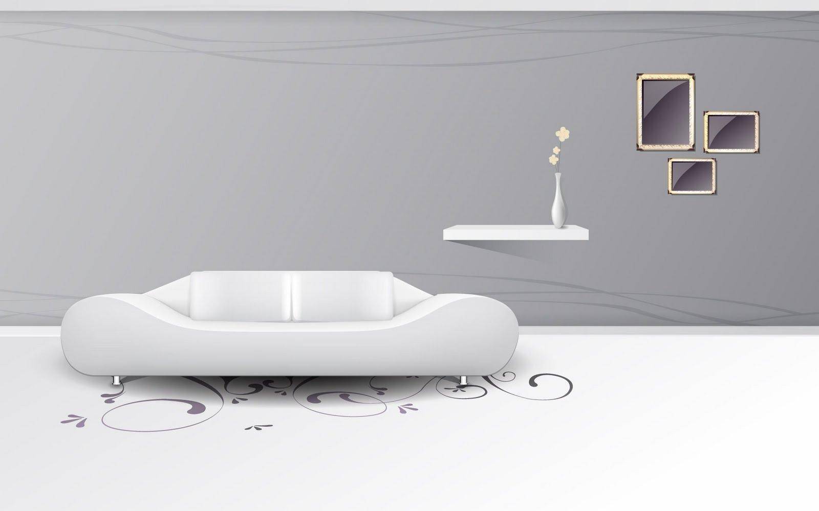 Digital Art Interior Design HD Wallpaper Set 2