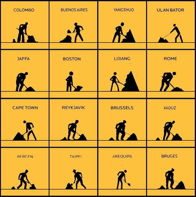 isotipos, pictogramas, NY, trabajo