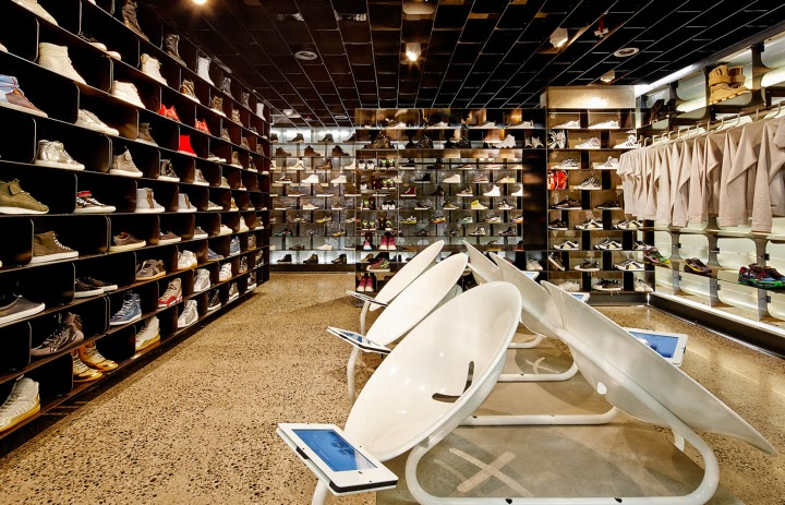 Sneakerboy Concept Store, Melbourne (Australia), por March Studio