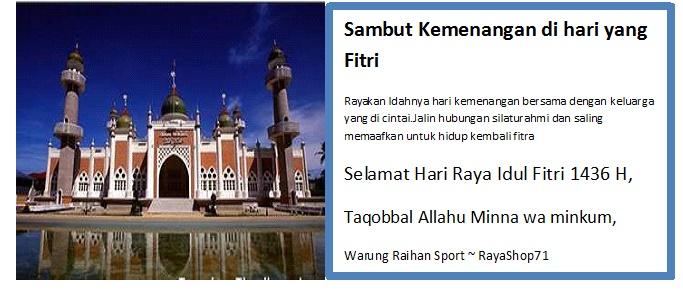 Warung Raihan Sport ~ RayaShop71