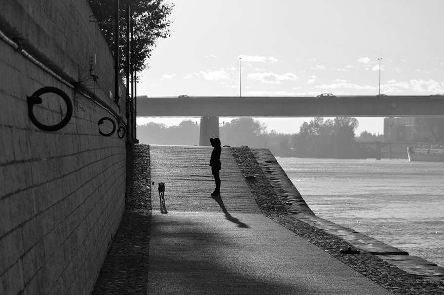 Arles entre ciel et terre -Quai de la Roquette