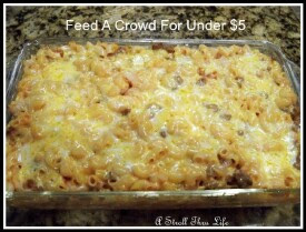 Feed A Crowd For Under $5