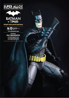"""Play Imaginative SDCC 2013 Exclusive 12"""" Super Alloy Batman Figure"""