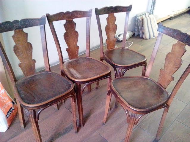 La lija inquieta sillas de madera - Como arreglar el asiento de una silla ...