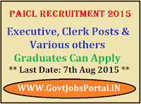 PAICL Recruitment 2015