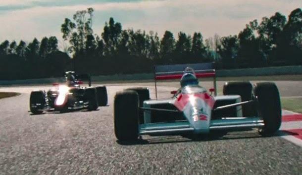 Veja Alonso a pilotar McLaren de Senna (com video)