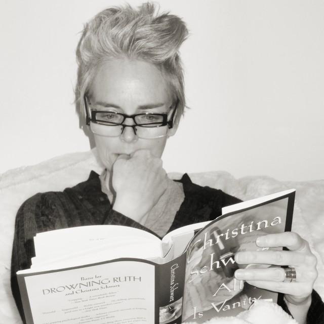 Hot Harridans Reading, Mel Kobayashi, Bag and a Beret