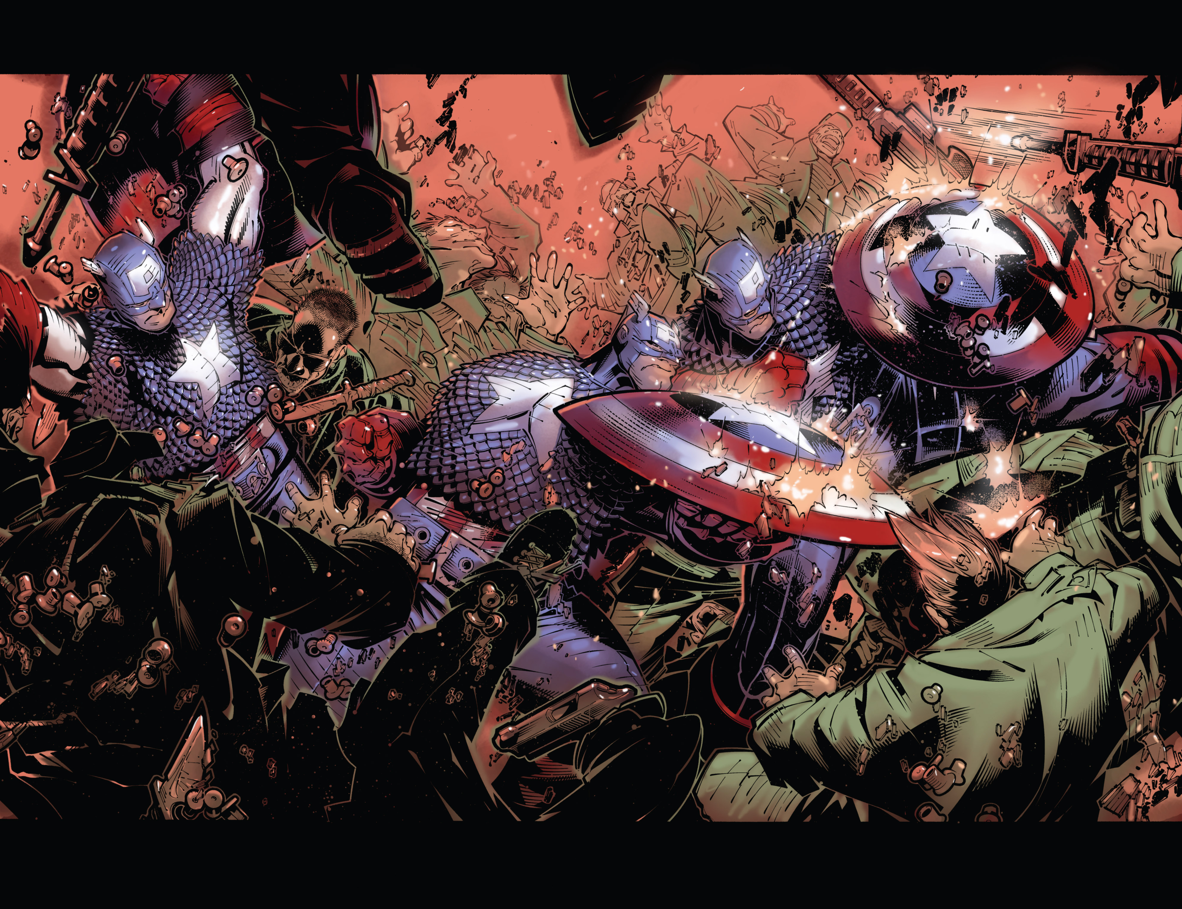 Captain America (2002) Issue #24 #25 - English 20