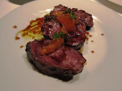 Braised Wagyu beef cheeks at The Bazaar
