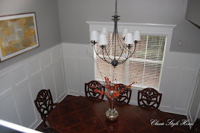 Dining Room with DIY Mouldings