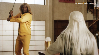 anderson silva as kill bill bride