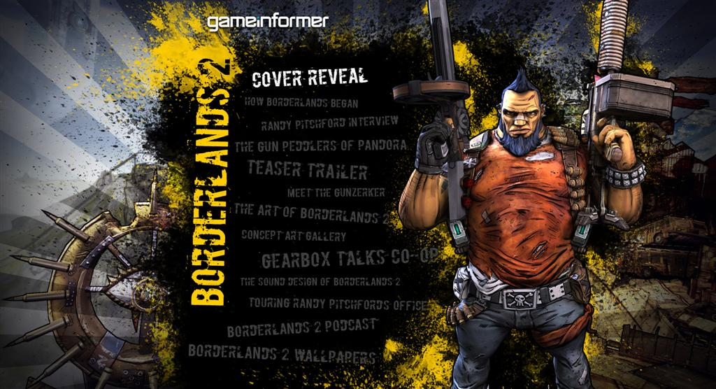 Borderlands HD & Widescreen Wallpaper 0.640902890630734