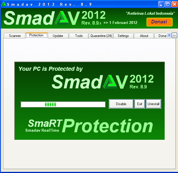 Cara Baru Menghilangkan Blacklist SMADAV 8.9.1 + Key Pro