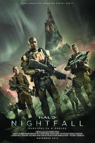 Halo: Nightfall [2014] [DVD FULL] [NTSC] [Latino]