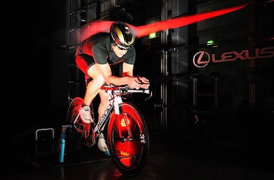Lexus time-trial bike