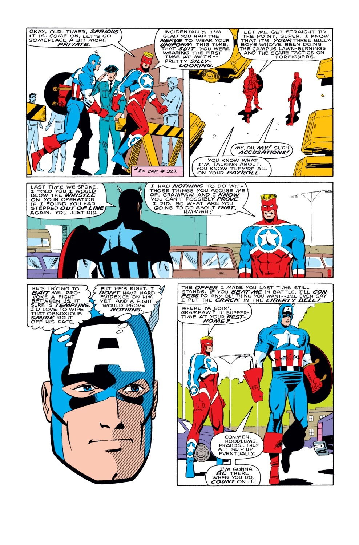 Captain America (1968) Issue #327 #256 - English 15