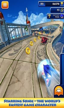 sonic dash android apk Download