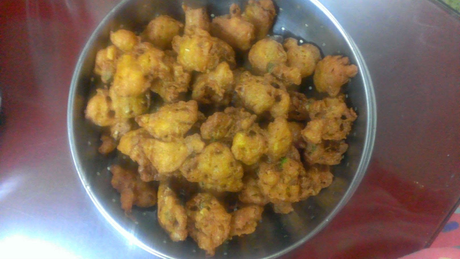 how to make kanda bhaji