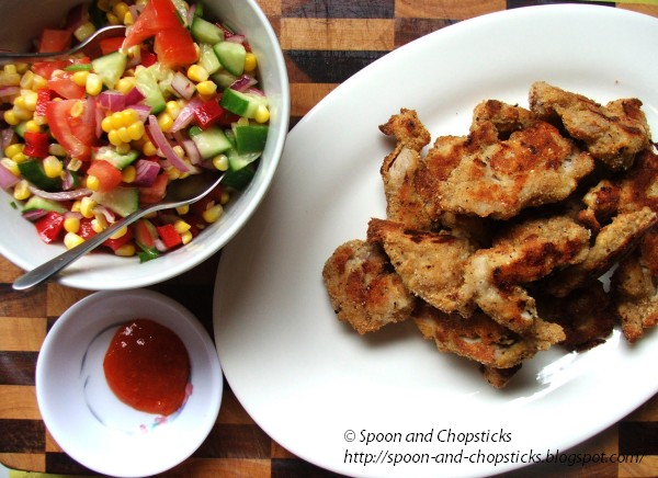 Oven-Fried Herb Chicken Nuggets Recipes — Dishmaps