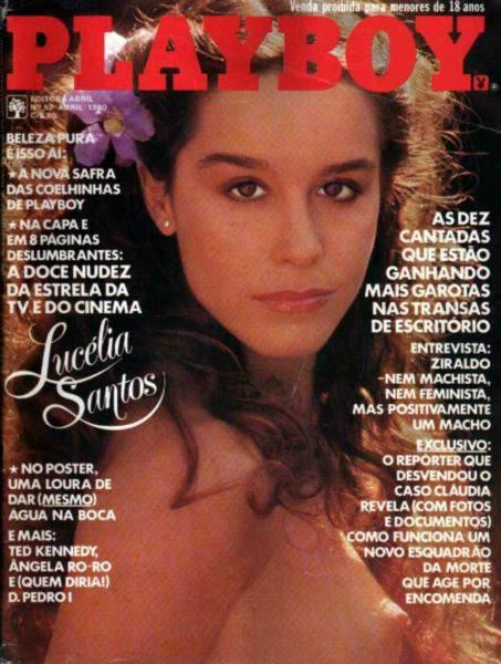 Confira as fotos da atriz Lucelia Santos, capa da playboy de abril de 1980!