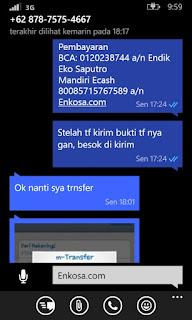 gamabr screenshot testimoni tedi hidayat untuk enkosa sport toko online terpercaya lokasi di jakarta psaar tanah abang