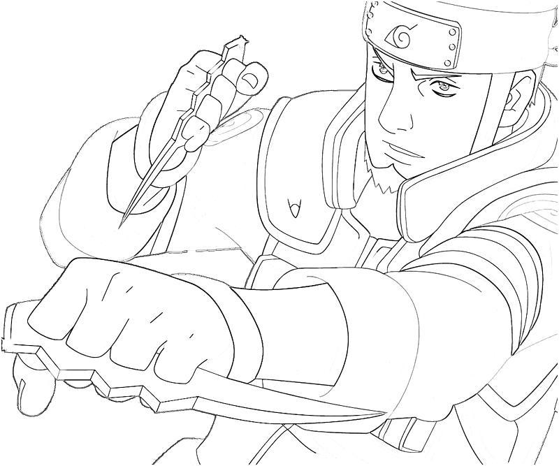 printable-naruto-asuma-smoking_coloring-pages-6