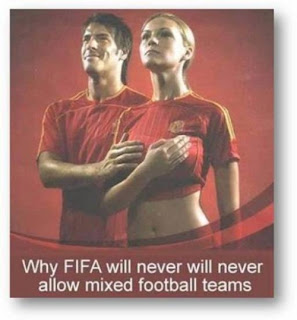 Funny fifa girl and boy LOL Photo