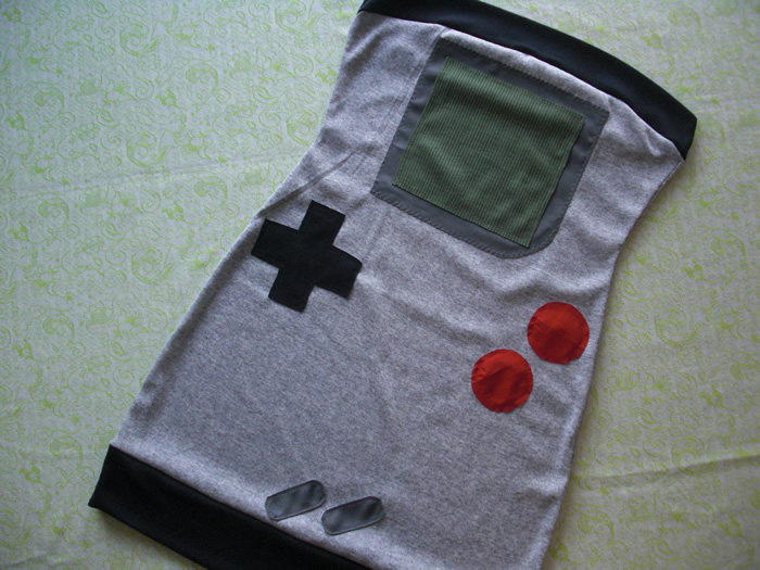 Vestido Game Boy