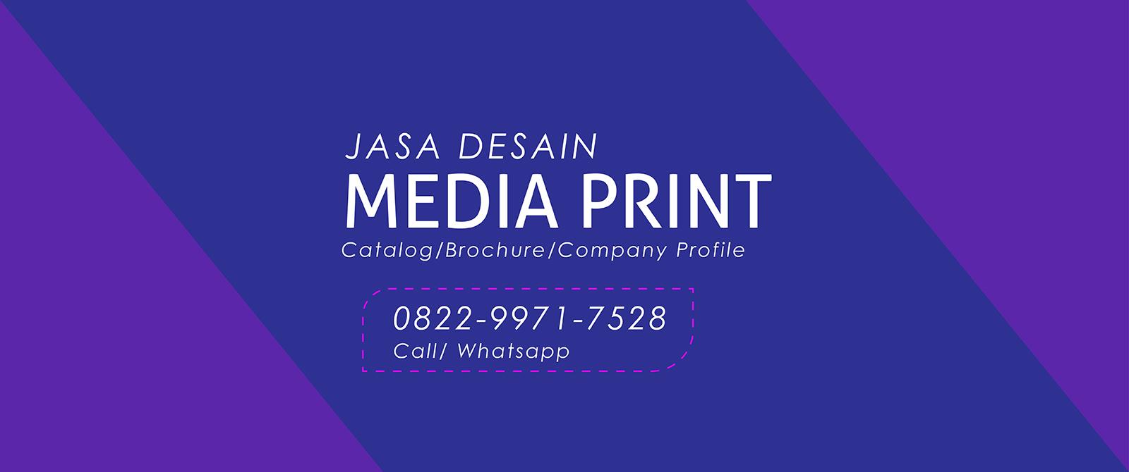Jasa Desain Media Print