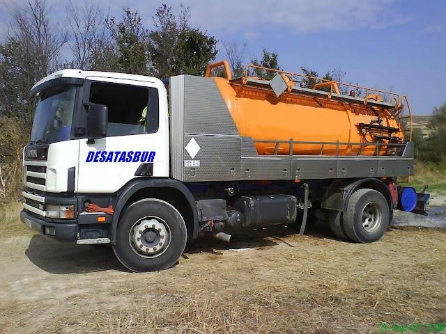 Camión cuba en Palencia
