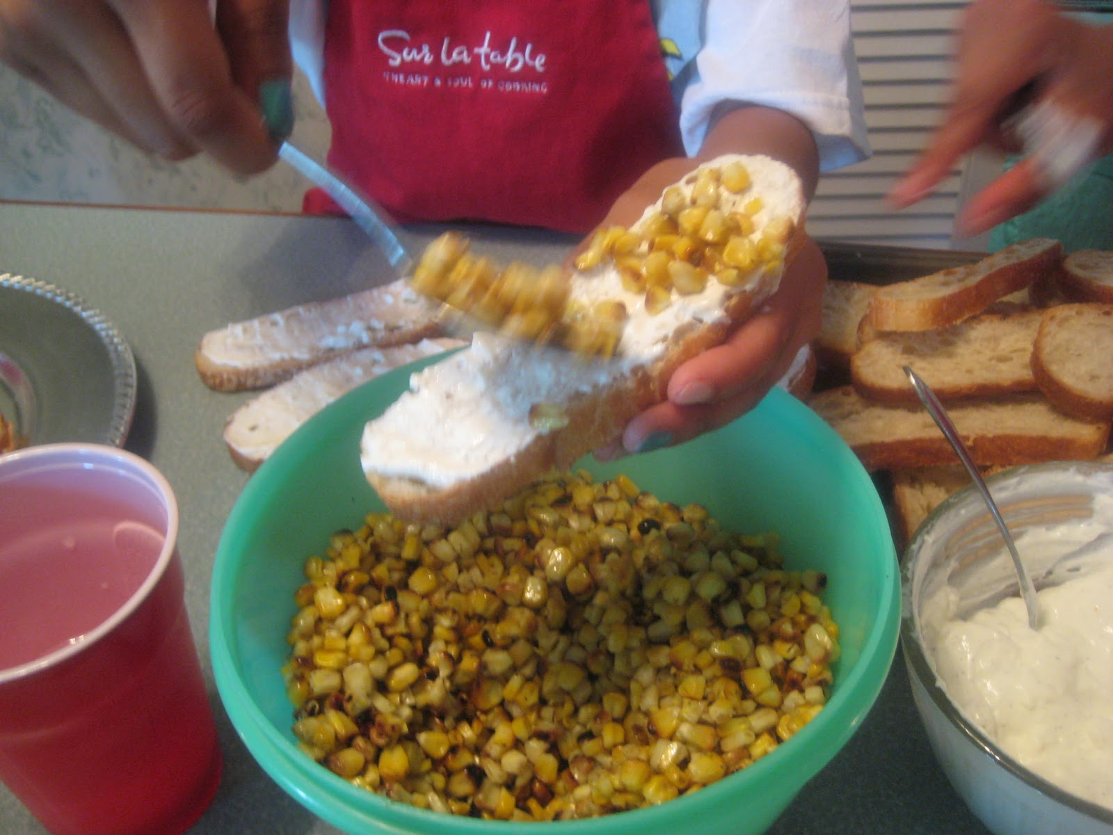 tidwell-ish: Mexican Grilled Corn Crostini
