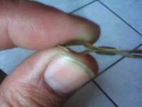 cara memperbaiki plat dengan jari