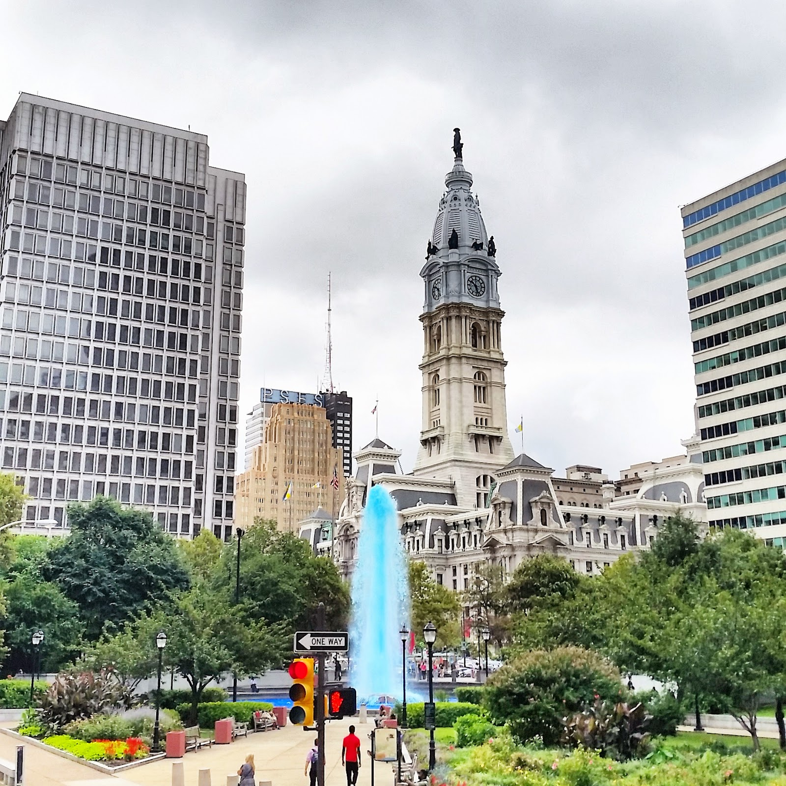 Philadelphia City Hall and Love Park