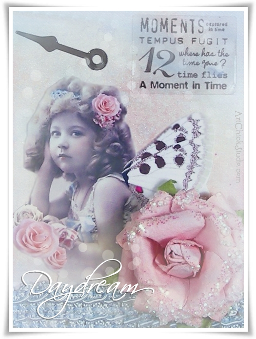 Daydream Digital Collage Fairy
