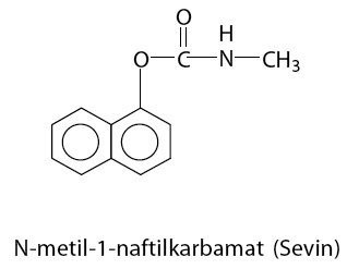 N-metil-1-naftilkarbamat (Sevin)