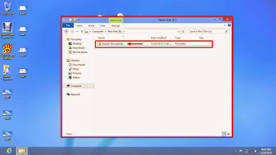 Learn how to hide files and folders in windows 8 step8