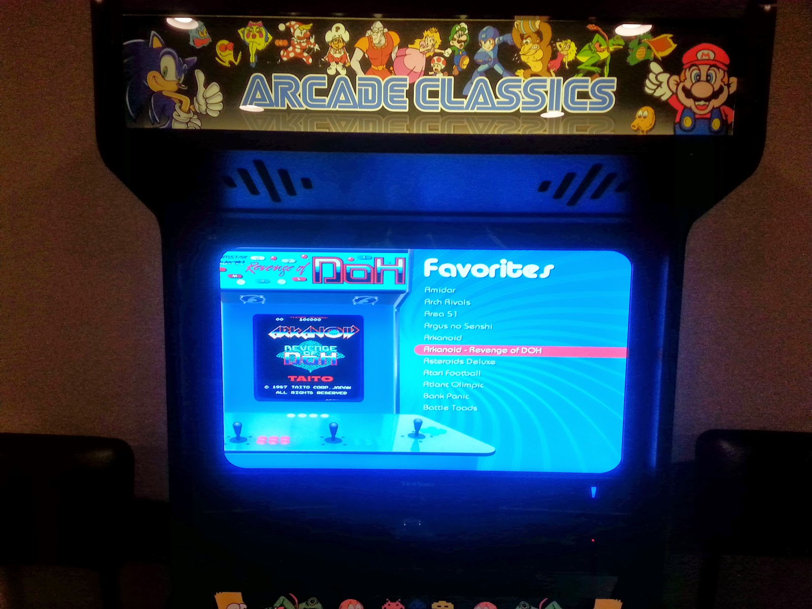 QuinSpot: Let the Games Begin : The Home Arcade Project