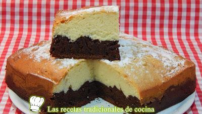 Receta de bizcocho de chocolate