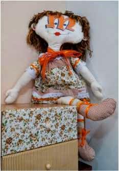 Boneca feita em casa