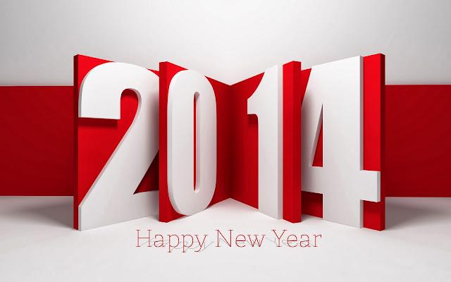 Theme Happy New Year 2014