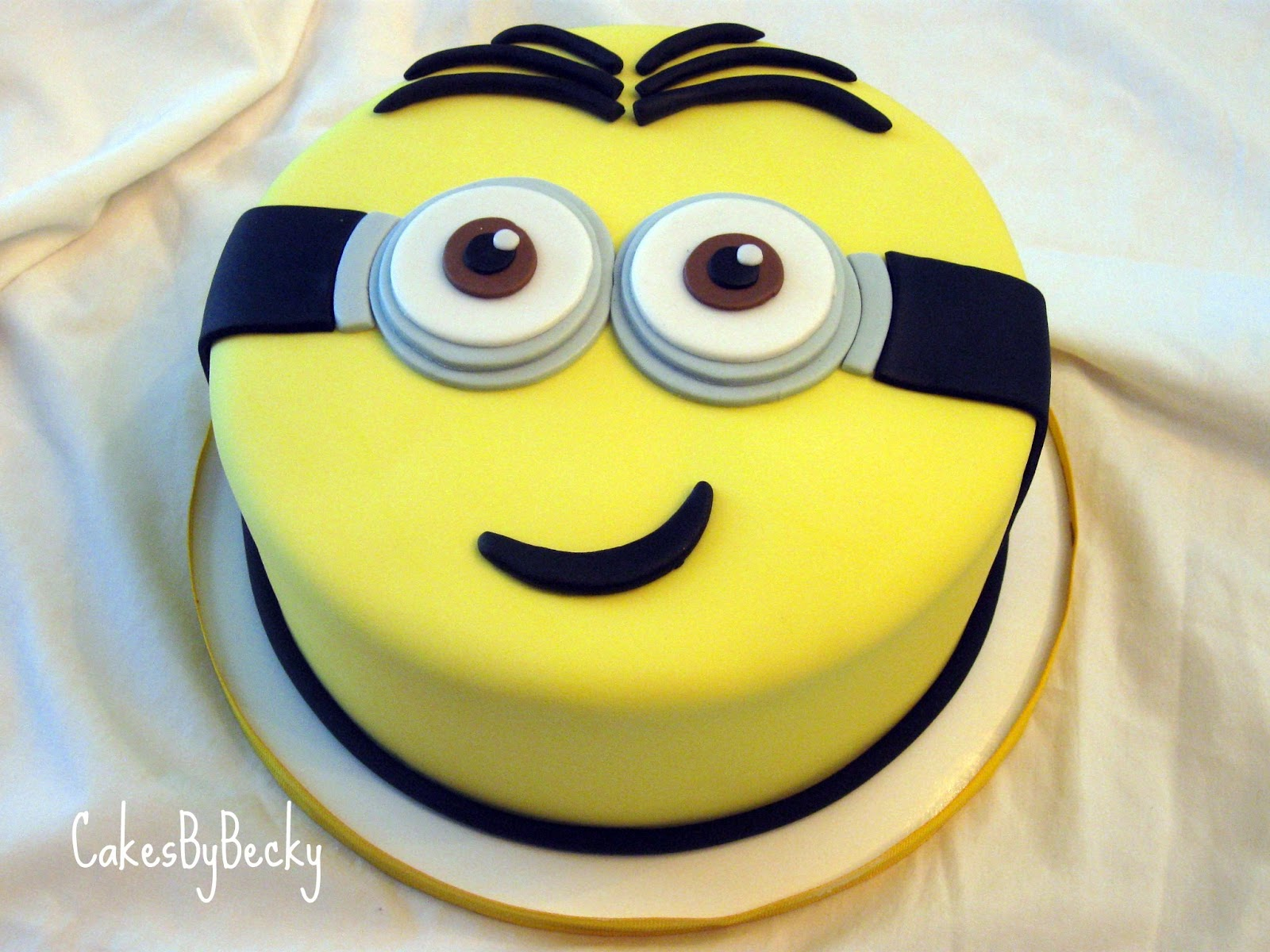 Images For Minions Birthday Cake : Cakes by Becky: Minion Birthday Cake