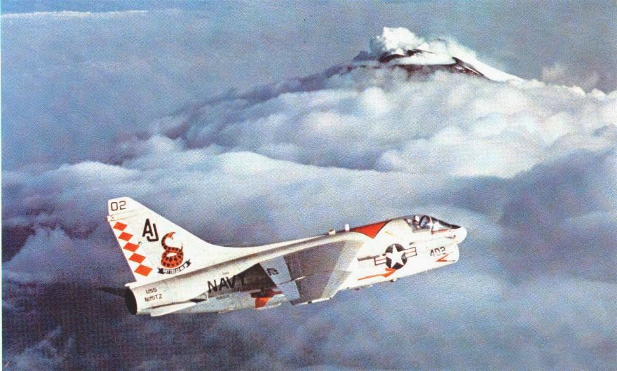 VA-86 Sidewinder in flight