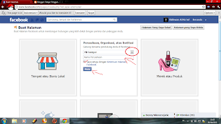 Cara Membuat FP (Fans Page) Di Facebook