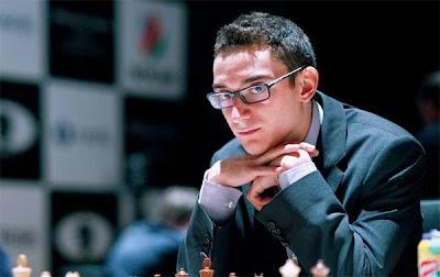 Grand Prix d'échecs de Bakou : Fabiano Caruana - Photo © Anastasiya Karlovich