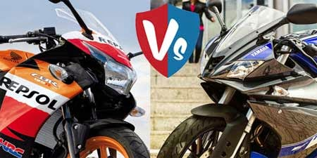Keunggulan Honda CBR125R vs Yamaha R125