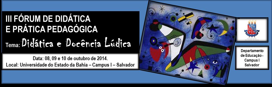 Forum de Didática - 2014